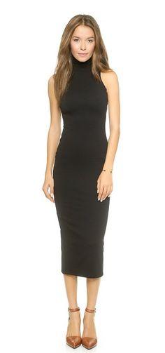AD Reversible Turtleneck Dress