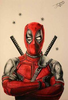 #Deadpool #Fan #Art. (Deadpool) By: Memo1144. (THE * 5 * STÅR * ÅWARD * OF: * AW YEAH, IT'S MAJOR ÅWESOMENESS!!!™) [THANK U 4 PINNING!!!<·><]<©>ÅÅÅ+(OB4E)