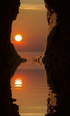 New images on imgfave aesthetic gif Amazing Sunsets, Beautiful Sunset, Amazing Nature, Beautiful World, Beautiful Places, Imagen Natural, Foto Gif, Dawn And Dusk, Moon Photography