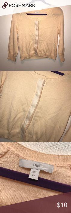 GAP Peach Cardigan GAP Peach Cardigan GAP Sweaters Cardigans