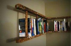 Ladder wall storage