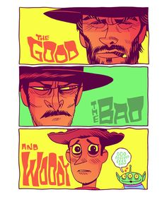 THE GOOD, THE BAD AND WOODY