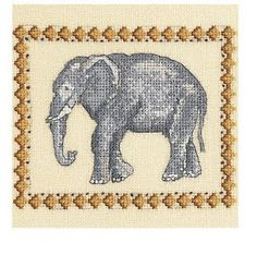 Craftdrawer Crafts: Free Elephant Cross Stitch Pattern