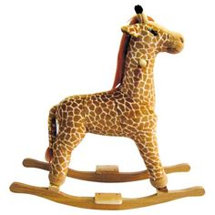 Rocking giraffe. I need this for Brans room!