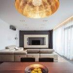 Дизайн интерьера: двухэтажная квартира в Бухаресте в стиле модерн.