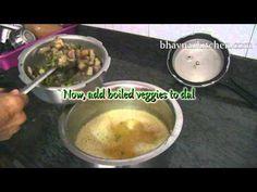 ▶ Bhega Dal Bhat or Gujju style Dhansak Video Recipe by Bhavna - YouTube
