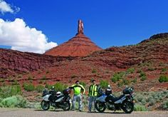 Castle Valley, Utah, east of Moab. Castleton Tower is in the background. A story about the area was published in the January 2013 issue of Rider magazine.