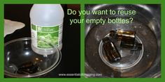 Do you have a bunch of empty essential oil bottles sitting around? I know I do!!! The worst part is I wish I could do something with them. Getting the smell and residue of the prior oil out …