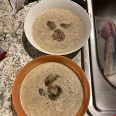 Chef John's Creamy Mushroom Soup Recipe - Allrecipes.com Creamy Mushroom Soup, Mushroom Soup Recipes, Creamy Mushrooms, Stuffed Mushrooms, Stuffed Peppers, Kitchen Twine, How To Cook Mushrooms, Cooking, Kochen