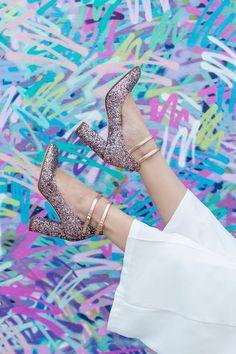 Kate Spade Glitter H