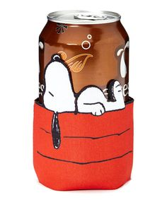 Look at this Snoopy Can Sleeve on #zulily today!