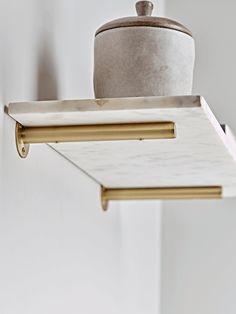 Wall Shelves & Hooks, Small Metal & Wooden Kitchen Shelves with Hooks UK Gold Shelf Brackets, Decorative Shelf Brackets, Gold Shelves, Shelf Hooks, Wood Brackets, Rustic Shelves, Metal Shelves, Shelving Brackets, Small Storage Shelves