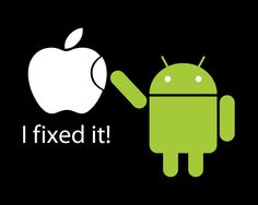 Guess why I love Android! (Pq será q adoro Android? Humour Geek, Tech Humor, Memes Humor, Funny Humor, S4 Wallpaper, Funny Images, Funny Pictures, Funny Pics, Wall Pictures