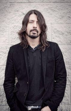 Dave Grohl-words can't describe my feelings of how awesome dave is...