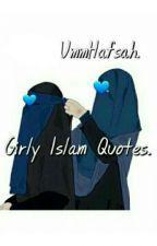 Girly (Islam) Quotes. door UmmHafsah