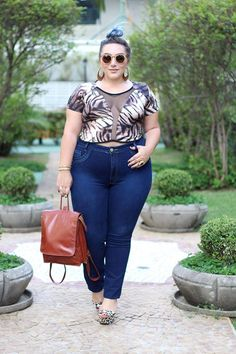 Plus size clothes are now very easily available in clothing stores, there are plus size people who feel uncomfortable buying from these physical stores. Look Plus Size, Curvy Plus Size, Plus Size Women, Curvy Outfits, Plus Size Outfits, Girl Fashion, Fashion Outfits, Womens Fashion, Curvy Fashion Summer