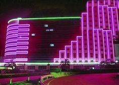 Unknown neon-deco building