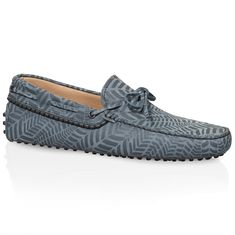 Gommino Driving Shoes in Nubuck XXM0GW05477SFLB401