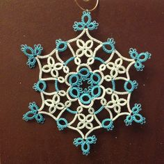 PDF Tatting Pattern Ice Dance by tattingbythebay on Etsy