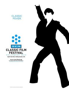 TCM Classic Film Festival Poster - Saturday Night Fever reference: Classic Fever