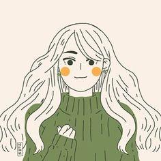 Adrianne Walujo (@adriannewalujo.o) • Foto dan video Instagram Cute Illustration, Character Illustration, Character Art, Character Design, Mini Canvas Art, Dibujos Cute, Korean Art, Illustrations, Cute Icons