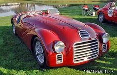 Enzo's 1947 Ferrari 125 S