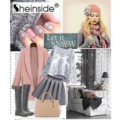 Sheinside by ruza-b-s on Polyvore featuring Madden Girl, MICHAEL Michael Kors and ASOS