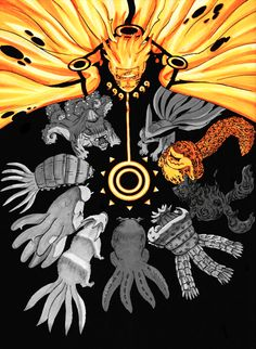 Naruto and Tailed Beasts
