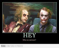 Beetlejuice and the Joker!