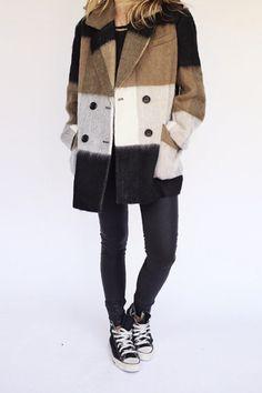 bowen plaid coat