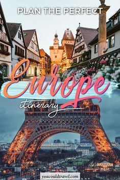 Planning an amazing Europe Itinerary – Honeymoon European Road Trip, European Travel, European Vacation, 2 Days Trip, Travel Through Europe, Eurotrip, Travel Guides, Travel Tips, Cool Places To Visit