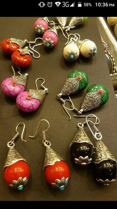 here's some cute earrings from Titir's..