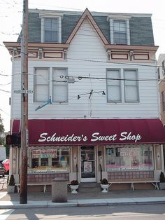 You haven't lived until you've had an ice ball from Schneider's.