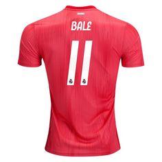 aa8324b1ec4 18 19 Gareth Bale Jersey Number 11 Third Replica Men s Real Madrid Soccer Real  Madrid