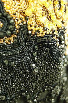 beading texture detail