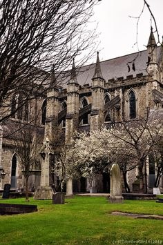 St.Patrick Cathedral in Dublin, last year spring.