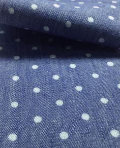 #Bel_Desenho_2 #Tecido #Índigo #Bolinhas #Bolas #Jeans #Tecotton