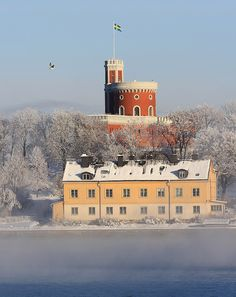 Djurgården in winter by Ingeborg van Leeuwen, via Flickr