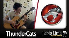 ThunderCats Theme on Acoustic Guitar By GuitarGamer (Fabio Lima)