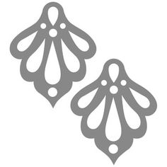 Silhouette Design Store - New Designs Diy Leather Earrings, Diy Earrings, Leather Jewelry, Leather Craft, Scroll Saw Patterns, Leather Projects, Cricut Creations, Silhouette Design, Bottle Crafts