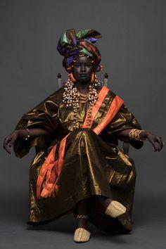 Khoudia Diop by Joey Rosado for 'NYENYO' Campaign; Senegal