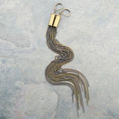 Items similar to bullet chain earrings, shoulder duster, long, mixed metal on Etsy Bullet Casing Jewelry, Bullet Earrings, Chain Earrings, Wasteland Weekend, Tina Turner, Upcycled Crafts, Bullets, Mixed Metals, Dusters