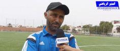 مع مصطفى أشباخ مدرب مجد إنشادن لكرة القدم