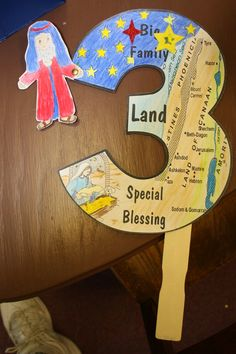 3 Promises to Abraham: Hands On Bible Teacher. No printable, so I made my own. Abraham Bible Crafts, Bible Story Crafts, Bible Crafts For Kids, Bible Study For Kids, Kids Bible, Bible Stories, Preschool Bible Lessons, Bible Lessons For Kids, Bible Activities