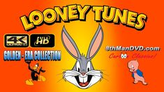 BUGS BUNNY LOONEY TUNES 4 HOURS COLLECTION: Daffy Duck, Porky Pig and mo...