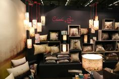 Chacha by Iris, collections of cushions, lampshades and textiles. http://www.chachabyiris.com