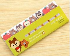 This listing is for one (1) pack of mini Kitty Cat sticky notes.  ☆.。.:*・°☆.。.:*・°☆.。.:*・°☆.。.:*・°☆  ★ Cute sticky notes! Great for scrapbooking and planning. ★ Each sticky note has 15 sheets. 150 sticky notes in total. ★ Size of packet is approximately 1.5 inches (H) x 4.2 inches (W). ★ Lighting of pictures may slightly differ from actual product.  ☆.。.:*・°☆.。.:*・°☆.。.:*・°☆.。.:*・°☆  Please read my shop policies about shipping and any additional information. Thanks for shopping. If you have…