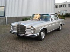 1970 Mercedes Heckflosse 280 coupé. The one I didn't buy after a year of shall I or  shall I not... Regrets..