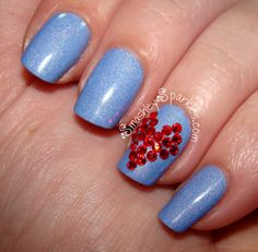 Smashley Sparkles: Valentine's Day Nail Art with Born Pretty Store ...