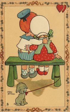 Instant download Beautiful Mabel Lucie Attwell reproduction print; zo zoet,,,,,,,,,,,,,,,,,                     lb xxx.